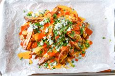 Crispy Buffalo Oven Fries