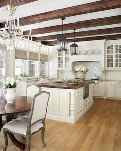 New French themed Kitchens