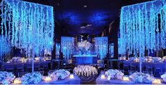 The Blue Decoration  bit.ly/1WCmHt7  #wedding #decoration