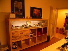 Ikea hack hamster (or lizard) cage