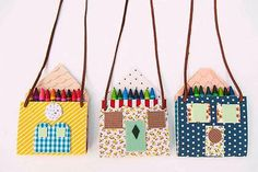 DIY No Sew Tiny House Necklace | Simple DIY Crafts For Kids
