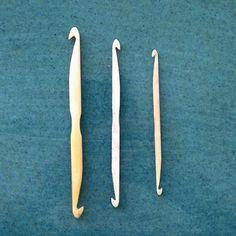 Image of Repair hooks (bone/ebony)