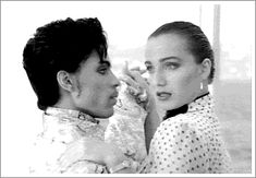 Prince and Kristen Scott Thomas on Under the Cherry Moon Kristin Scott Thomas, Night School, Paisley Park, Dearly Beloved, Roger Nelson, Prince Rogers Nelson, Purple Reign, Beautiful One, Beautiful Places