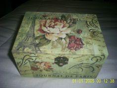 cajas de madera decoradas -