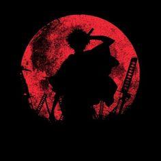 Samurai #Champloo: Mugen silhouette t-shirt.