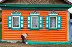 Цвета деревянного зодчества староверов - http://nalichniki.com/cveta-derevyannogo-zodchestva-staroverov/