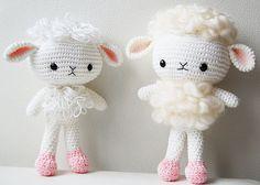 Amigurumi Lamb Pattern by Pepika, via Flickr