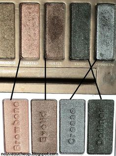 Wet n Wild Spring 2013 Limited Edition Coloricon Nude Awakening Palette vs. Urban Decay Naked Palette