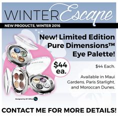 Escape this winter with Mary Kay!