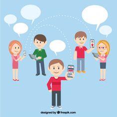 People using technology gadgets Freepik-People-pin-8
