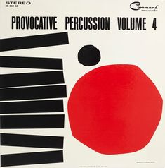 Josef Albers, Provocative Percussion Volume 4 by Enoch Light and The Light Brigade, 1962