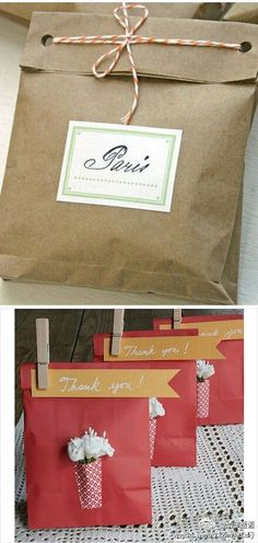7 Fun Holiday Gift Wrapping Ideas {Welcome Regina of Live Delightfully} Cookie Packaging, Paper Packaging, Gift Packaging, Packaging Ideas, Creative Gift Wrapping, Creative Gifts, Wrapping Ideas, Kraft Paper Wedding, Simple Packaging