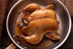 Basic Whole Roasted Chicken Recipe