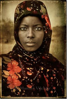 Africa | The beautiful Karima. Niger | ©Manuel Vilches Beíitez