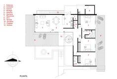 La Tomatina House,Plan