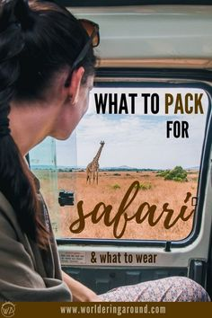 What to pack for safari in Africa? Full packing list and a guide on what to wear on safari in Africa including Kenya and other African countries. Kenya Travel, Morocco Travel, Africa Travel, Packing List For Travel, Travelling Tips, Packing Lists, Travel Guides, Travel Tips, Travel Destinations