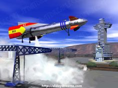 Fireball XL5 My first ride into the stars.