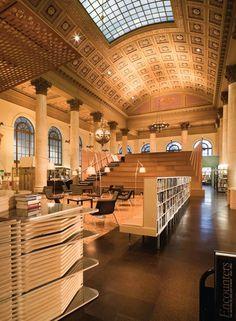 Fleet Library, RISD, Rhode Island