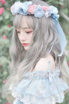 You # have # dreams # and # dreams # are big # storms? # # You # no # self Music # # # - wigs & toupee Ulzzang Korean Girl, Cute Korean Girl, Asian Girl, Kawaii Fashion, Lolita Fashion, Cute Fashion, Woman Fashion, Style Lolita, Mode Lolita