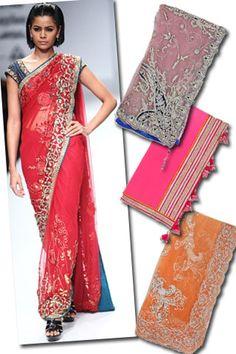 25 Stylish #Saris for the Wedding Season | VOGUE India
