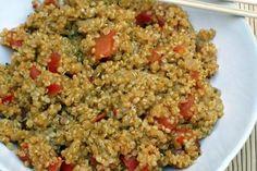 Quinoa with Garden Fresh Tomatoes