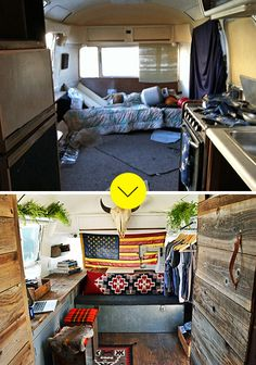 Airstream Makeover (Before & After) // Design*Sponge