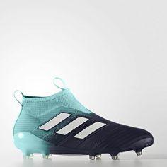 new concept 35a3f d1ee3 Barcelona Botas De Futbol Adidas ACE 17+ Purecontrol FG Negro Verde   Adidas  ACE 17+ Purecontrol FG   Pinterest   Adidas