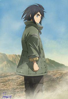 Mobile Suit Gundam: Tekketsu no Orphans (Mobile Suit Gundam: Iron-Blooded Orphans) Mikazuki Augus, Hobby People, Zelda Anime, Blood Orphans, Gundam Iron Blooded Orphans, Gundam Wallpapers, Otaku Mode, Gundam Seed, Gundam Art