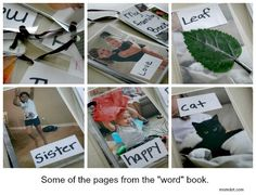 DIY flip book for toddlers during the back to school season