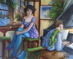 Mattin-Laurent Partarrieu - Artist Profile and Paintings