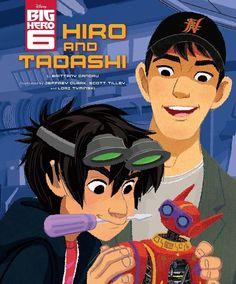 Hiro and Tadashi nerding out together. What great brothers.