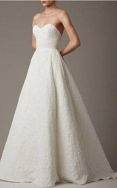 MY PERSONAL FAVORITE Lela Rose Bridal Spring Summer 2016 Look 1 on Moda Operandi