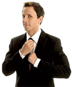 Seth Meyers is probably one of my biggest celebrity crushes. There is nothing more attractive than an intelligent man with an incredible sense of humor!