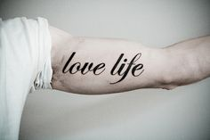 Beautiful quotes for tattoos and inspirational tattoo quotes. Hundreds of tattoo quotes and inspirational quotes for you to browse, enjoy, and share. Love Life Tattoo, Tattoo You, Tattoo Quotes, Font Tattoo, Tattoo Pics, Great Tattoos, Beautiful Tattoos, Beautiful Body, Beautiful Things