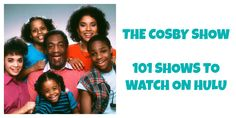 The Cosby Show- 101 Shows to Watch on Hulu #watchtvonline Watch Tv Online, The Cosby Show, Movie Posters, Movies, Films, Film Poster, Cinema, Movie, Film