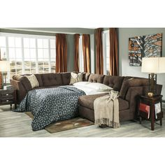 Signature Design by Ashley Delta City Right Sleeper Sectional