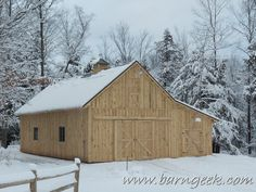 22x50 Gable Barn Plans with Shed Roof Lean to