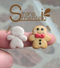 melted snowman polymer clay - Google Search