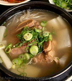 Korean Beef Short Rib Soup | 15 Easy Korean Recipes Perfect For Cold Evening | homemaderecipes.c... homemaderecipes.com/