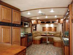 Heartland luxury fifth wheels heartland rvs campers - Infinity fifth wheel front living room ...