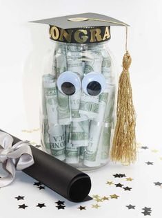 Graduation Jar Eyes