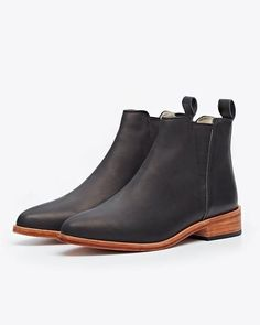Nisolo Chelsea Boot Black | Women's Boots
