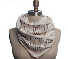 Romeo & Juliet Book Scarf by storiarts on Etsy, $42.00