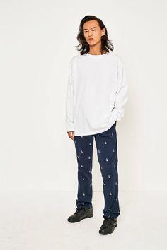 69fdf109b3 adidas XbyO White Long-Sleeve T-shirt