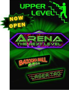 Bazooka Ball /Laser Tag at The Wharf, Orange Beach AL