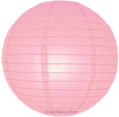 """4"""" Pink Even Ribbing Round Paper Lantern (10 Pack) by Asian Import Store, Inc.. $5.50. Round paper lanterns with a even wire ribbing. Lantern is held open with a wire expander. Sold in packs of 10. So, if you purchase 2 of this item, you are receiving 20 pieces of the 4"""" lanterns.  Dimensions: 4"""" dia  (All lanterns sold without lighting, lighting options must be purchased separately)"""