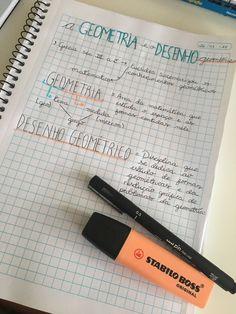 #Study #Organized #Caderno #Notebook  matando a saudade de estudar mesmo estando de férias