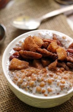 Caramel Apple Pie Wheat Berry Porridge | Community Post: 16 Wheat Berry Recipes You Absolutely Need To Try