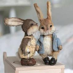 Needle Felted Animals, Felt Animals, Cute Animals, Needle Felting, Teddy Toys, Rabbit Art, Cute Teddy Bears, Bear Doll, Felt Toys