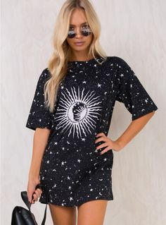 Motel Cosmos Sunny Kiss Dress